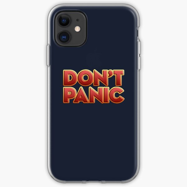 Don't Panic iPhone Soft Case