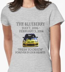 R.I.P. Blueberry Women's Fitted T-Shirt