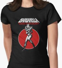 Barbarella - Queen of the Galaxy Womens Fitted T-Shirt