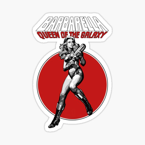 Barbarella - Queen of the Galaxy Sticker
