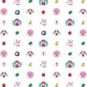 acnl pattern ANIMAL CROSSING  pink by MiuNya