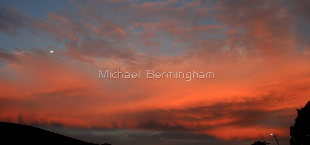 'The stars are veiled' by Michael  Bermingham