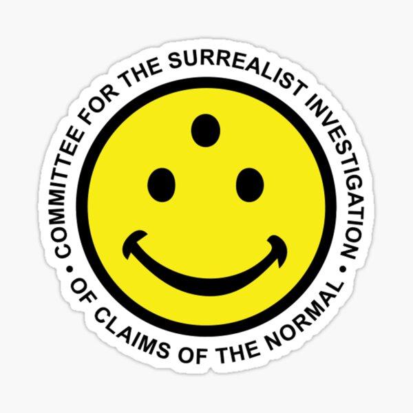 Surrealist Investigation / Discordian Popeism Sticker