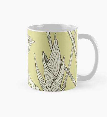 Bird on Orchid Cactus Mug