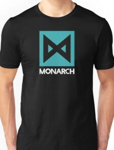 Monarch logo - inspired by Kong Unisex T-Shirt