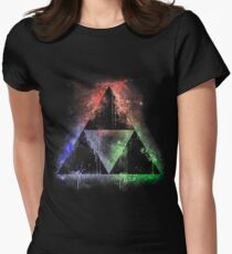 Colours Of The Force (vr.2) Womens Fitted T-Shirt
