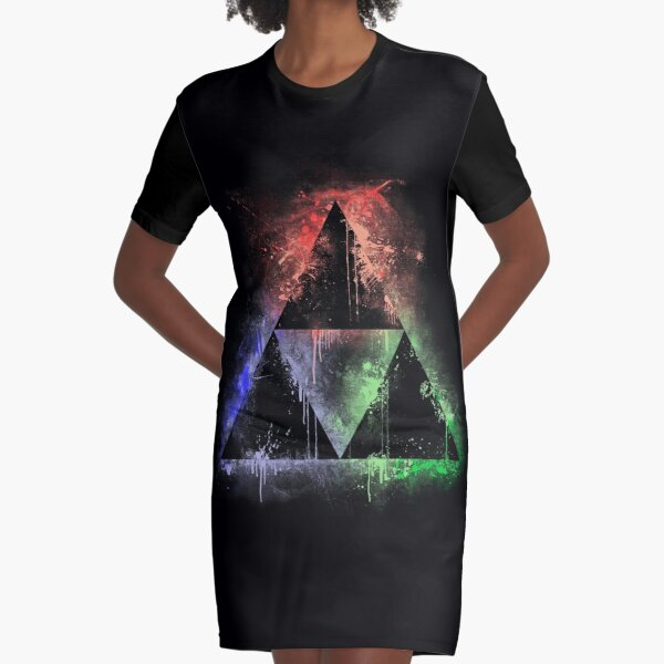 Colours Of The Force (vr.2) Graphic T-Shirt Dress
