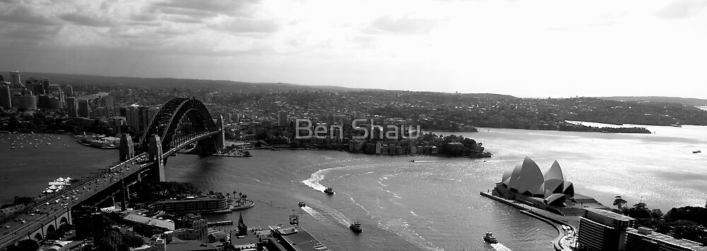 Sydney, the greatest city in the world in Black and White by Ben Shaw
