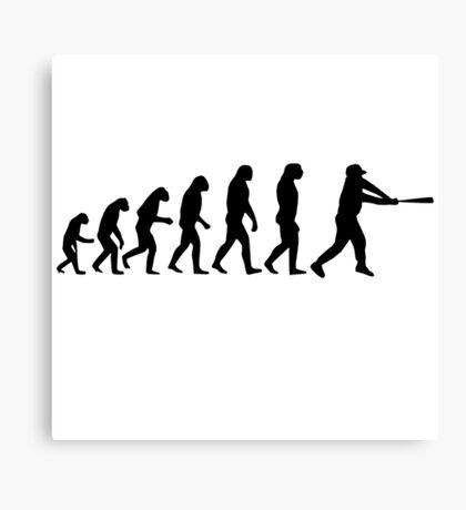 Baseball Evolution Canvas Print
