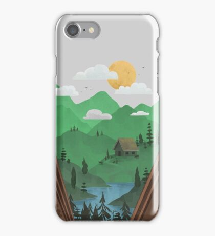 Accordionscape iPhone Case/Skin