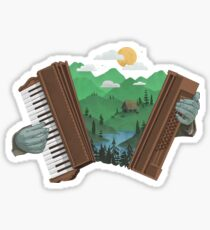 Accordionscape Sticker