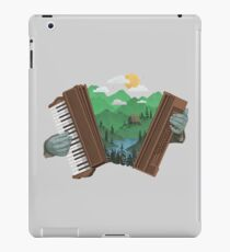 Accordionscape iPad Case/Skin