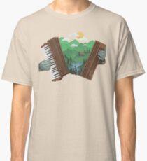 Camiseta clásica Accordionscape