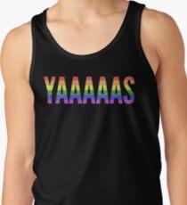 YAS - Rainbow Gay Pride T-Shirt