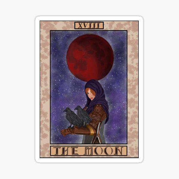 Leliana- Dragon Age Tarot Card Sticker
