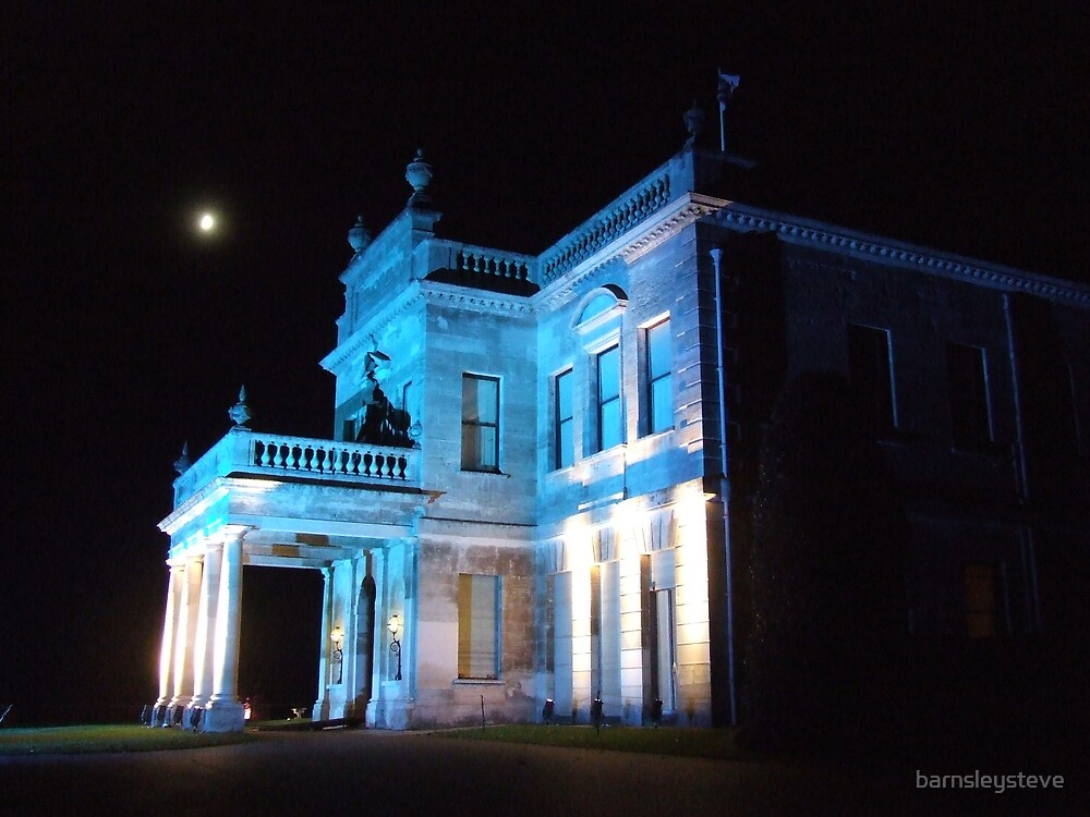 Brodsworth Hall by night 1 by barnsleysteve