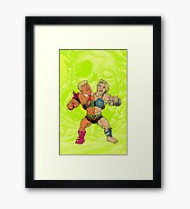 Trump vs Hillary Framed Print