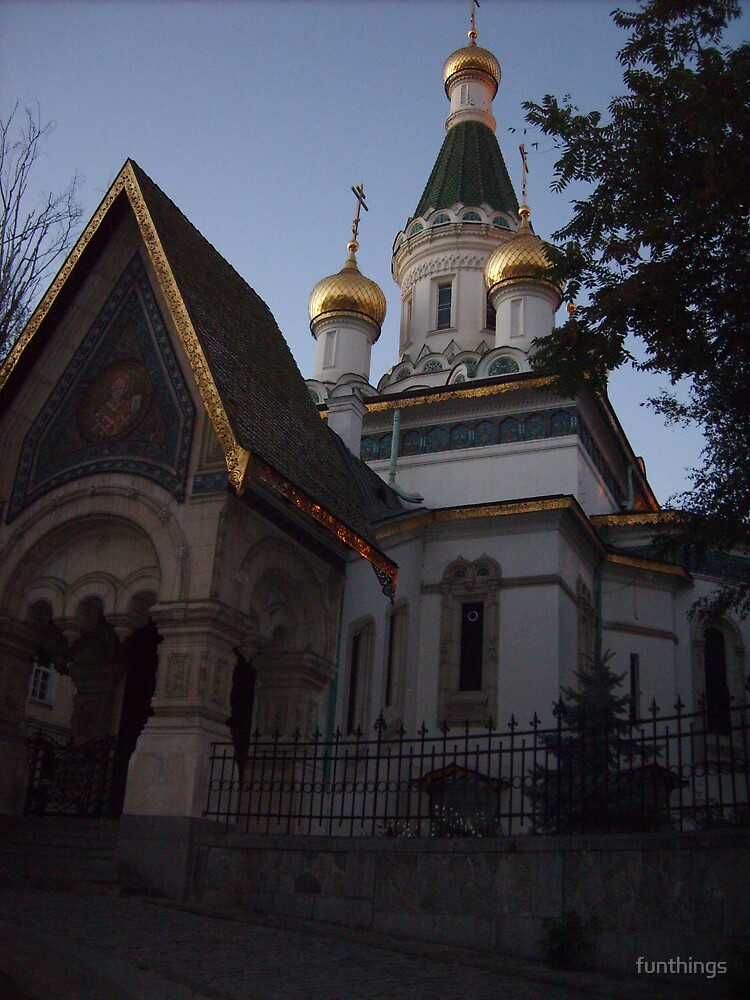 Russian orthodox church in Bulgaria by funthings