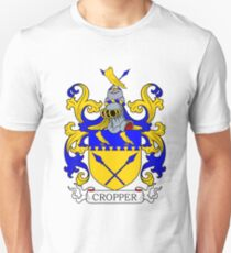 Cropper Coat of Arms II Unisex T-Shirt