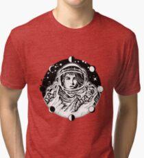 Woman astronaut  Tri-blend T-Shirt