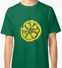 Yellow Silkscreen Lemon / The Stone Roses inspired Classic T-Shirt