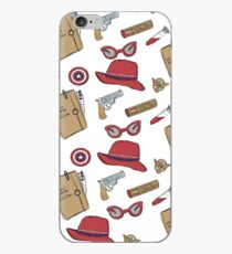 Agent Carter all over print- regular iPhone Case