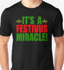 Its A Festivus Miracle! Seinfeld T-Shirt