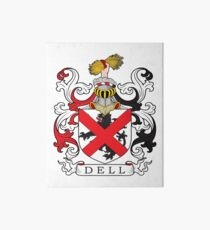 Dell Coat of Arms Coat of Arms Art Board