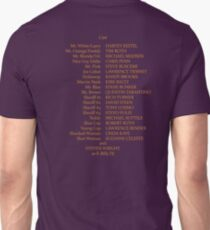 Reservoir Dogs Credits Unisex T-Shirt