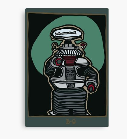 The Robot Canvas Print