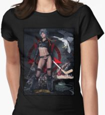 Russian Tank Witch Rusalka Women's Fitted T-Shirt