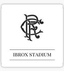 Black & White Football - Rangers FC Sticker