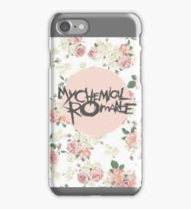 My Chemical Romance Floral Feminine Design iPhone Case/Skin