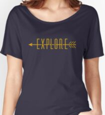 Explore (Arrow) Women's Relaxed Fit T-Shirt