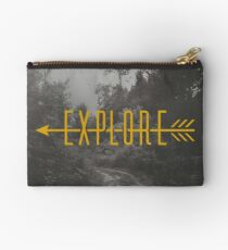 Explore (Arrow) Zipper Pouch