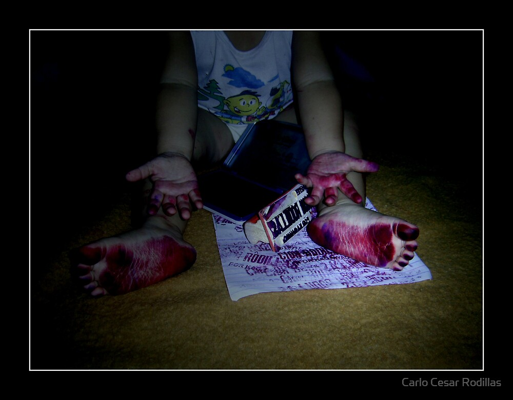 Can I Use My Feet As A Stamp by Carlo Cesar Rodillas