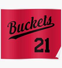 Buckets retro Script 1 Poster