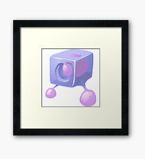 Glitch Wardrobia mental item 01 w1 Framed Print