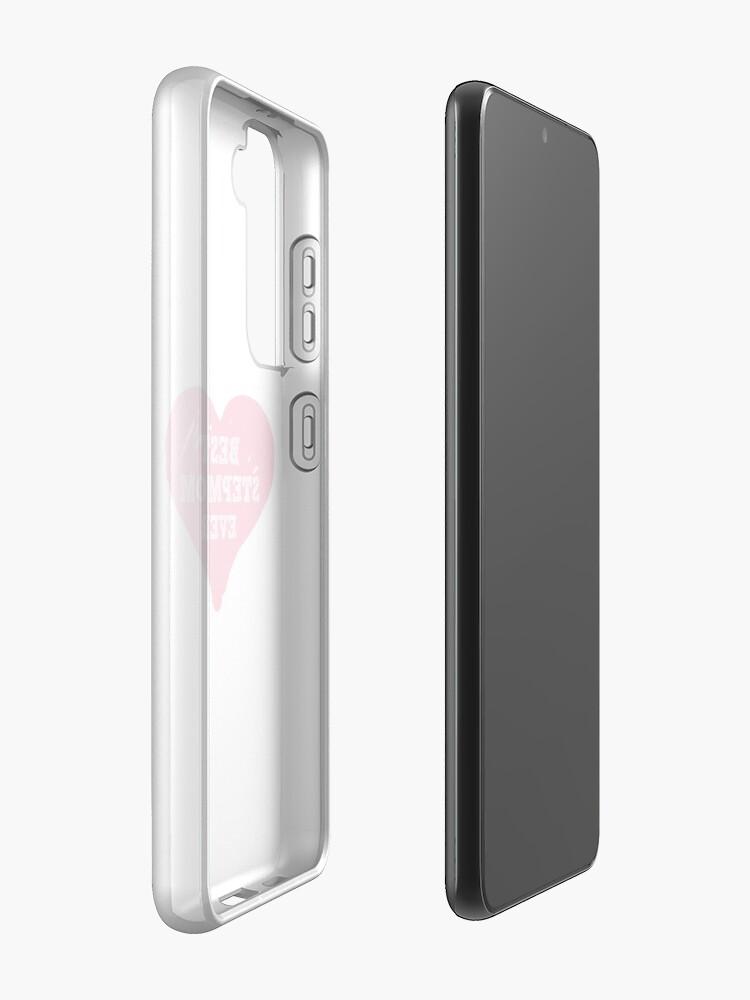 Alternate view of Best Stepmom Ever Case & Skin for Samsung Galaxy