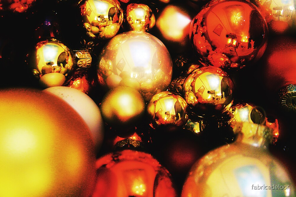Christmas balls # 01 by fabricedeloor