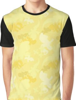 Flutershy Camo Graphic T-Shirt