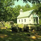 """Cades Cove Missionary Baptist Church""... prints and products by Bob Hall©"