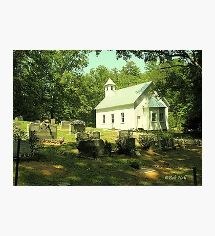"""""""Cades Cove Missionary Baptist Church""""... prints and products Photographic Print"""