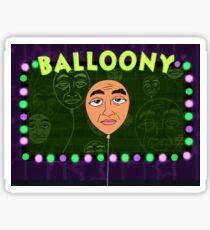 Praise Balloony Sticker