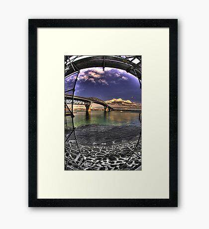 Auckland Harbour Bridge Framed Print