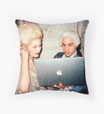 Music sound's better with you. Throw Pillow