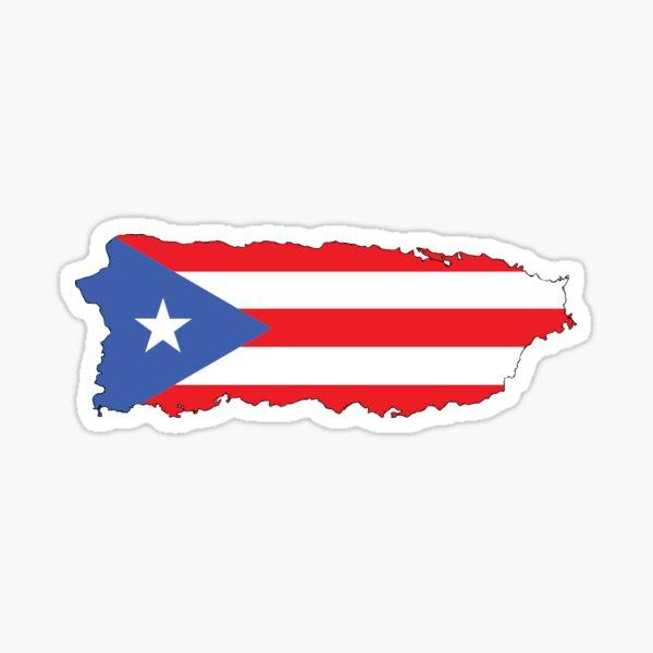 Porto Rico Sticker