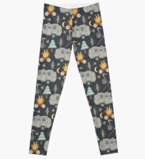 Airstream Camping Leggings