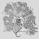 Mistletoe Stag by samclaire