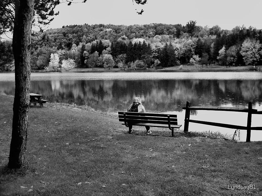 He Sits Alone by Lyndsay81